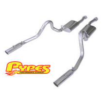 1996-2004 Mustang GT Stainless Steel Cat Back Exhaust System
