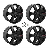 "2015-2021 F-150 Ford Performance OEM 22"" x 9.5"" Gloss Black Wheels w/ TPMS Kit"