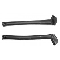 1994-2000 Ford Mustang & Cobra Convertible Top Front Side Rail Rubber Weatherstrips Seals Pair LH & RH