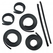 1987-1993 Ford Mustang GT & LX Hatchback 7-Piece Deluxe Rubber Weatherstrip Seal Kit