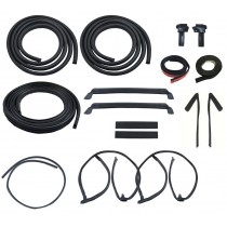 1981-1983 Ford Mustang LX GT T-Top 18 piece Deluxe Weatherstrip Weatherstripping Rubber Seal Kit