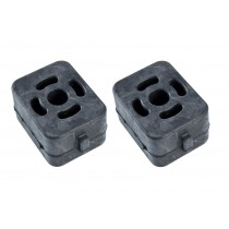 1999-2004 Ford Mustang Tail Pipe Hanger Rubber Insulators - Pair