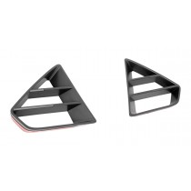 2018-2020 Mustang GT Front Upper Grille Inserts Black