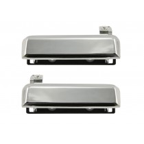 1979-1993 Mustang Chrome Outside Door Handles - Pr