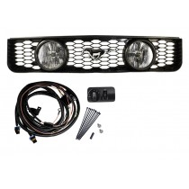2005-2009 Ford Mustang V6 Grille w/ GT Fog Lights and running horse