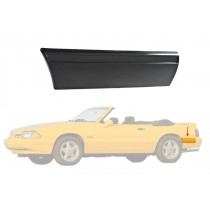 1987-1993 Ford Mustang LX Rear of Quarter Body Bumper Molding Moulding - LH