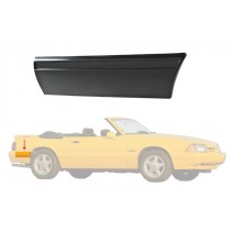 1987-1993 Ford Mustang LX Rear of Quarter Body Bumper Molding Moulding - RH