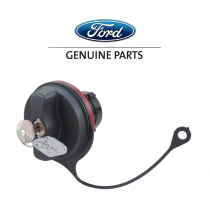 1999-2004 Mustang Genuine Ford Locking Fuel Door Gas Cap w/ Safety Tether & Key