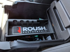 "2015-2020 Ford F-150 Raptor Super Duty Roush Performance Center Console Insert 3.5"" x 11.5"""