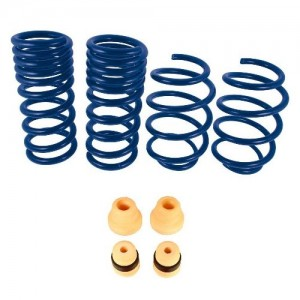 """2015-2020 Mustang GT Ecoboost Ford Racing 1"""" Drop Front & Rear Lowering Springs M-5300-X"""