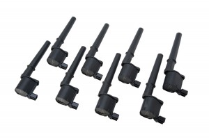 2007-2014 Shelby GT500 Ford Performance M-12029-4V Engine Ignition Coils Set of 8