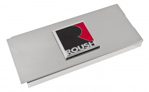 2010-2014 Mustang Roush RS1 RS2 RS3 Polished Stainless Fuse Box Cover w/ Emblem