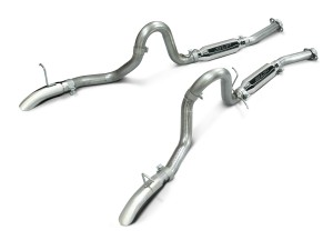"1986-1993 Mustang GT 5.0 SLP Loud Mouth Cat-Back Exhaust System w/ 3.5"" Tips"