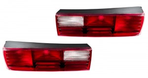 1987-1993 Ford Mustang GT OEM Complete Tail Lights with Housings