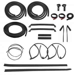 1987-1988 Mustang GT T-Top 20pc Weatherstrip Rubber Seal Kit - Ford Licensed